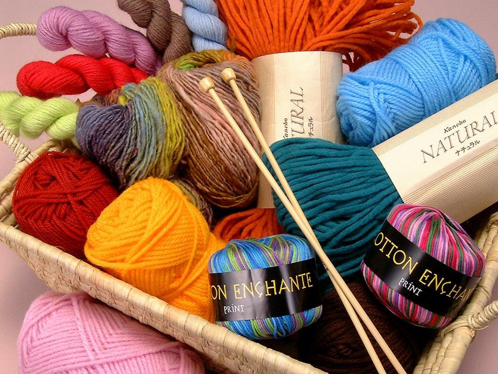 Пряжа рукоделие и вязание