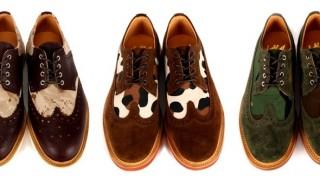 броги ботинки с перфорацией