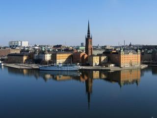 прогулка по Стокгольму