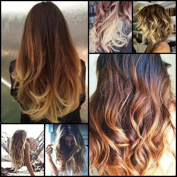 Амбре покраска волос запорожье