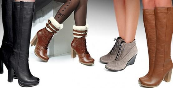 Купить кожаные женские туфли