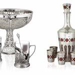 Чем порадует посуда из серебра