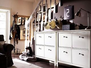 Модный шкаф для хранения обуви
