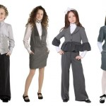 Школьная детская одежда