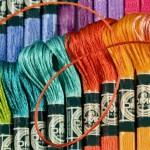 Нитки и роль цвета в вышивании