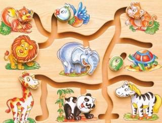 лабиринт деревянный для детей