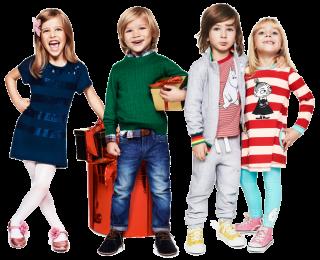 стильная одежда для детей