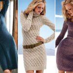 С чем носить платье-свитер: рекомендации по созданию модных луков