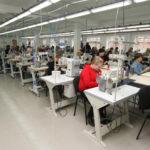 Современные швейные машины на предприятиях